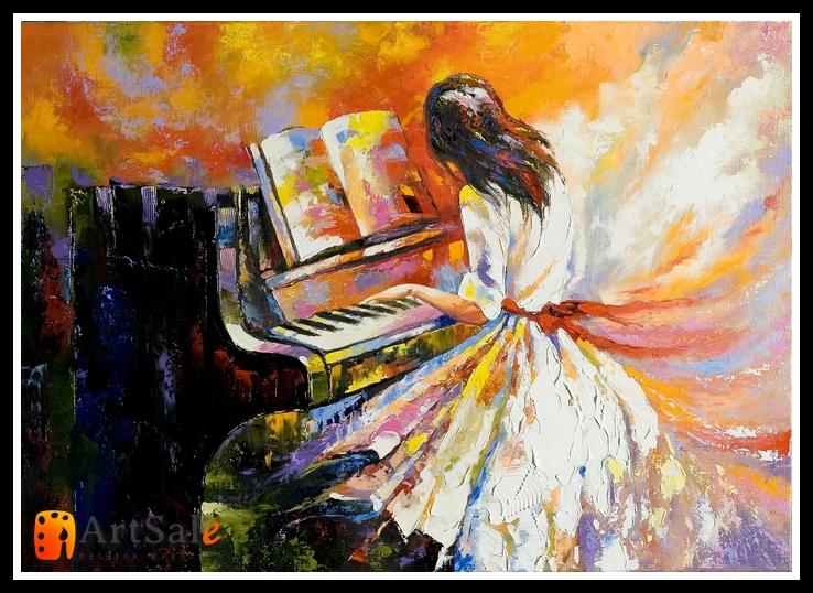 картины художников связанные с музыкой его заинтересовывать, загадывать